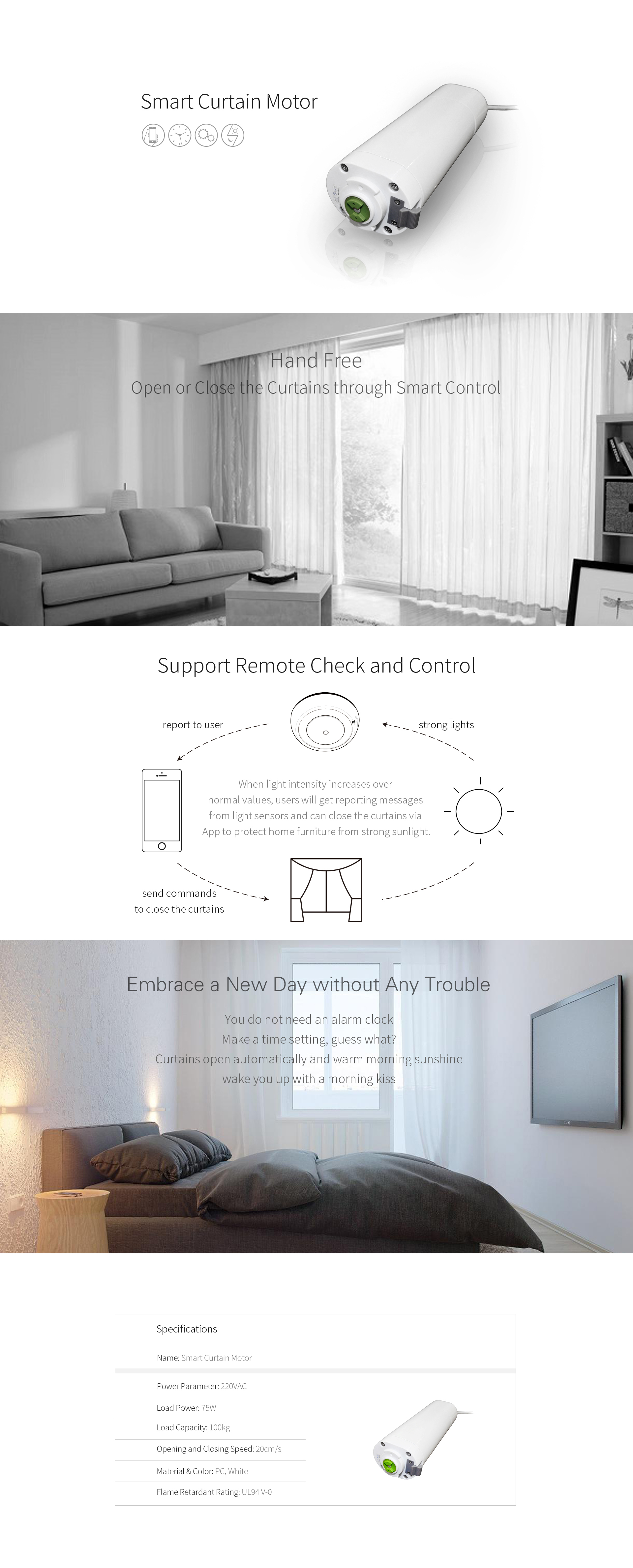 Smart Curtain Motor Lt Smart Smart Glass Nb Iot And