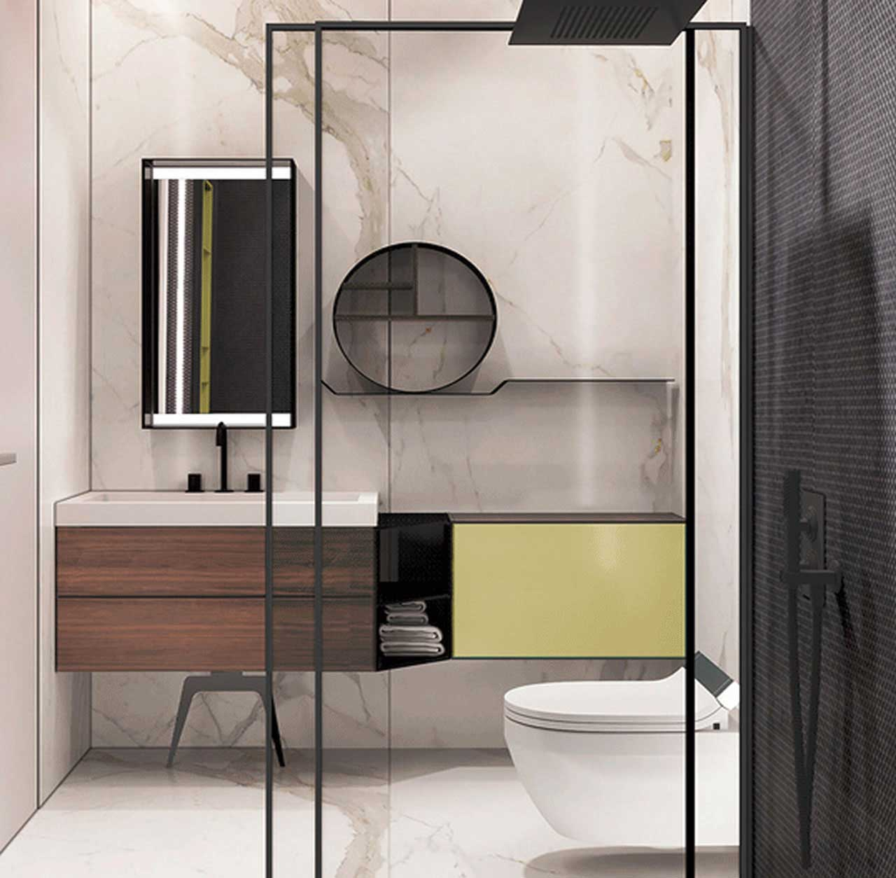 Privacy at Bathroom