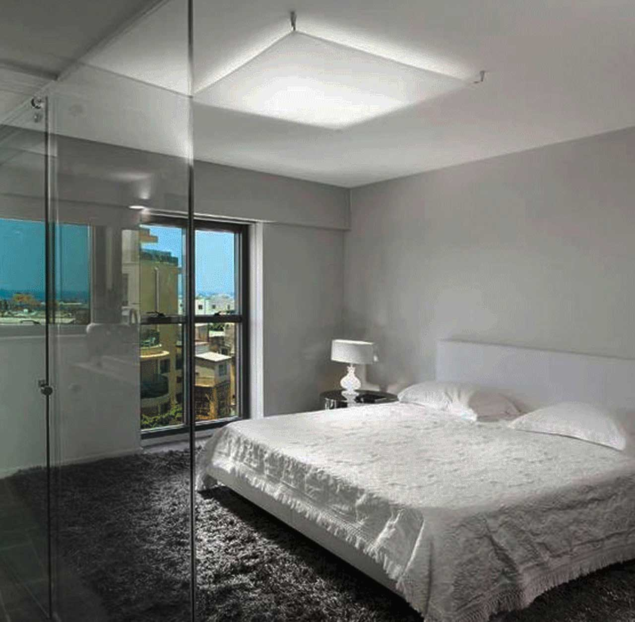 Switchable Smart Glass in hotel