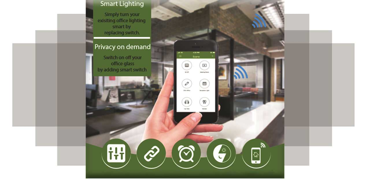 Smart Control, Smart Lighting, Privacy on Demand