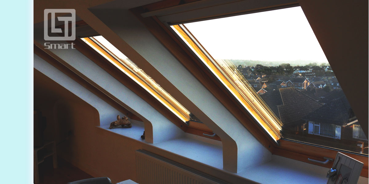 LT Smart has further improved the energy credentials of its pitched roof windows by dropping the U-value of all triple glazed centre pivot units.