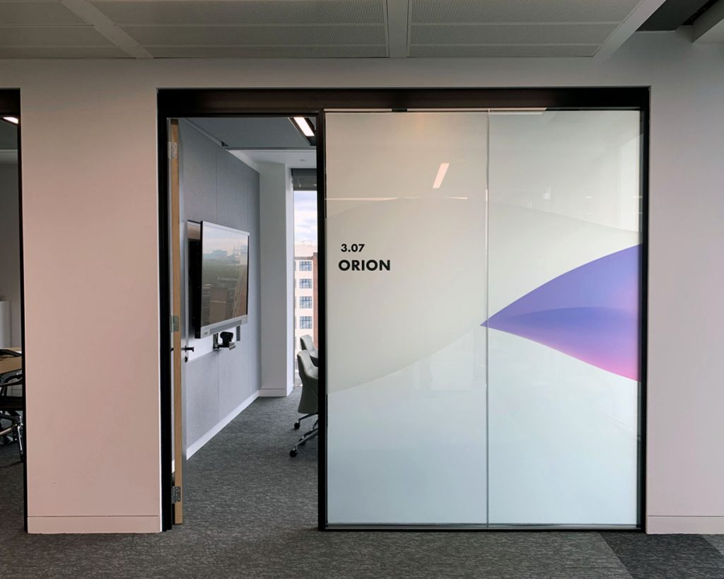 Finastra Orion room - Glass OFF