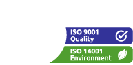 LT Smart is ISO 14001 and 9001 Certified